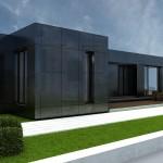 Casa modular de 100M 2SIN PORCHE Cubría Home