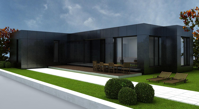 Cubriahome construcciones modulares viviendas madrid for Casas modulares minimalistas