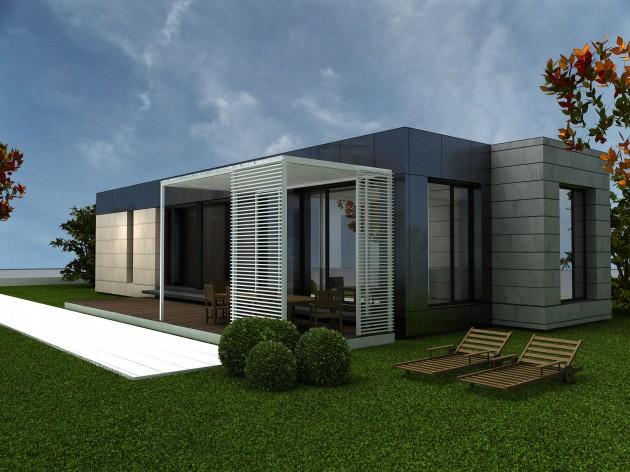 casa modular 90M CON PORCHE cubria home3