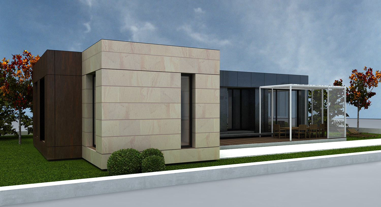Cubriahome modelos casas modulares santander modelos - Casas modulares barcelona ...