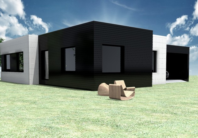 Cubriahome modelos casas modulares m laga precio modelos - Casas panel sandwich ...