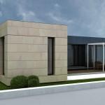 Casa modular de 118M  mezcla  Cubría Home2